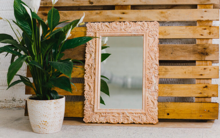 Зеркало из мрамора №17