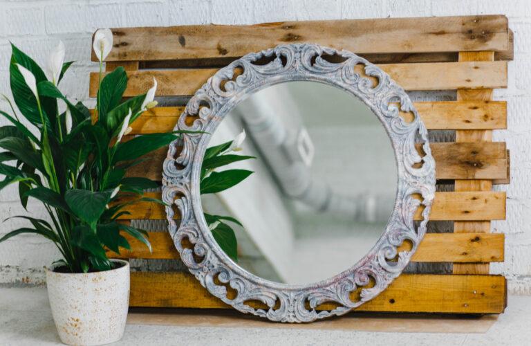 Зеркало из мрамора №26