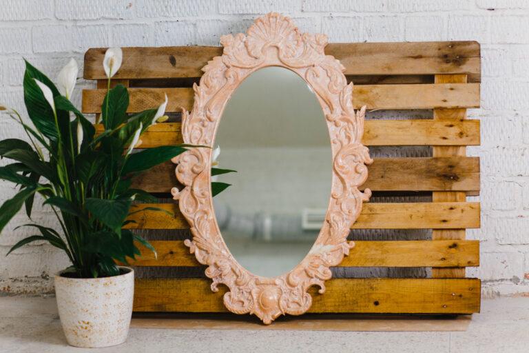 Зеркало из мрамора №43