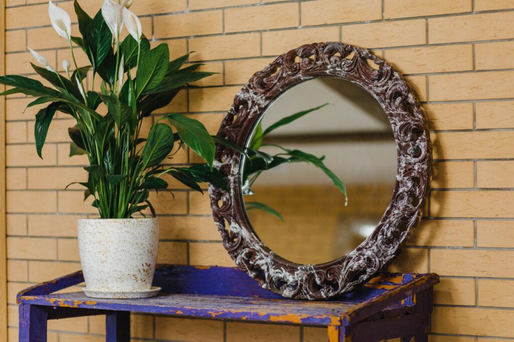 Зеркало из мрамора №6